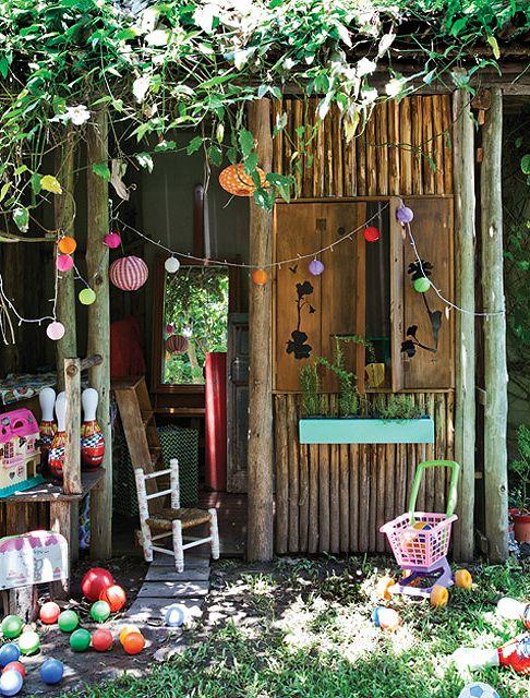 Un jard n para disfrutar en compa a caba a de jard n for Cabanas para jardin