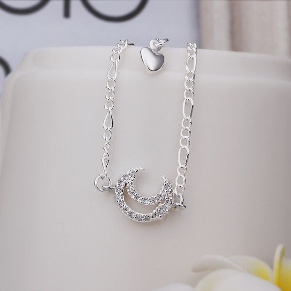 Like and Share if you want this  Wholesale Free Shipping silver plated Anklets,silver plated Fashion Jewelry Inlaid stone moon Anklets SMTA022     Tag a friend who would love this!     FREE Shipping Worldwide     Get it here ---> http://jewelry-steals.com/products/wholesale-free-shipping-silver-plated-ankletssilver-plated-fashion-jewelry-inlaid-stone-moon-anklets-smta022/    #silver_earrings