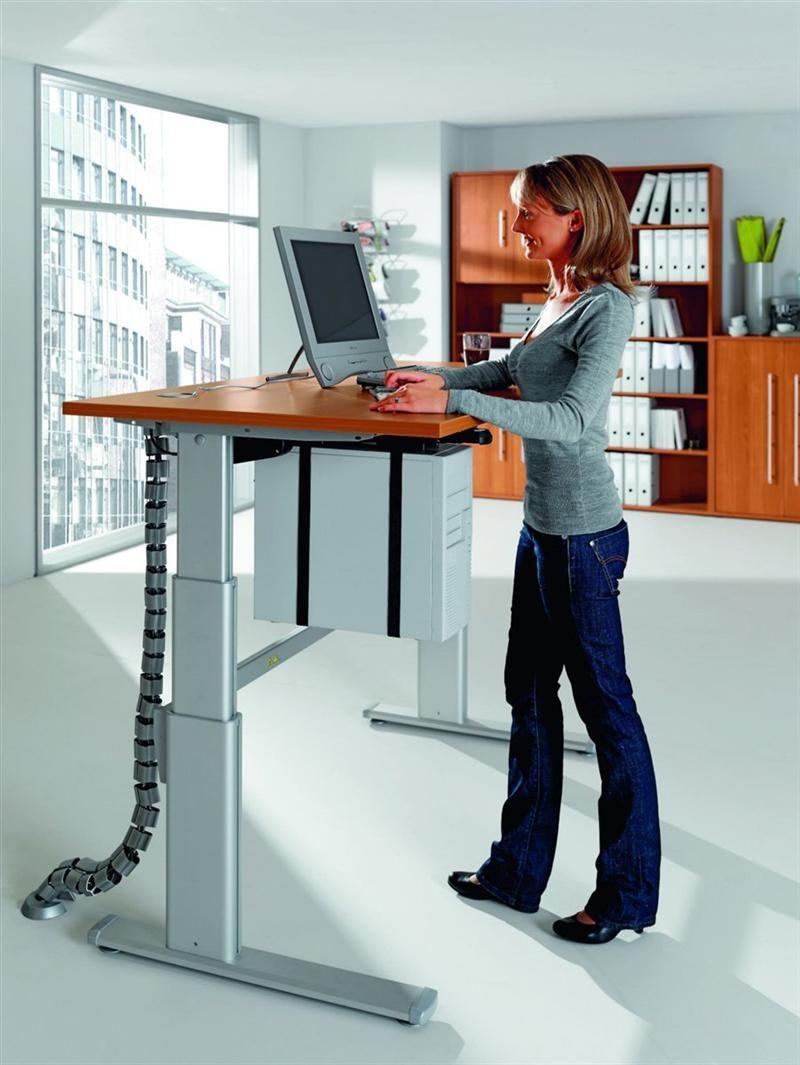 Büro Schreibtisch Büromöbel Pult Stehpult Stehtisch Up+Down - 1 ...