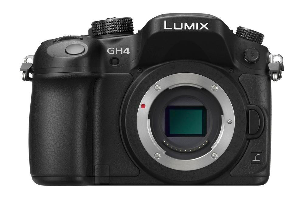 Panasonic - Lumix GH4 Mirrorless Camera (Body Only) - Black, DMC-GH4KBODY