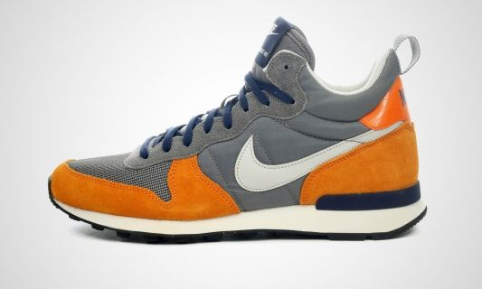 Nike Internationalist Mid Grau Orange Nike Internationalist Turnschuhe
