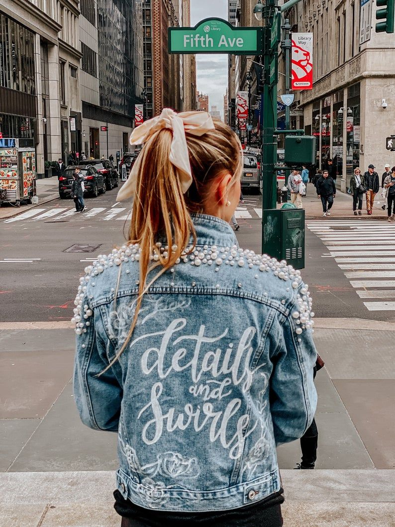 Hand Painted Jean Bridal Jacket Wifey Jean Jacket Bride Jean Jacket Mrs Jean Jacket Calligraphy Jean Jacket Diy Denim Jacket Bride Jacket Modesty Outfits [ 1059 x 794 Pixel ]