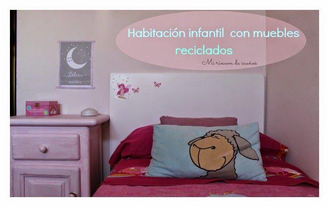 reciclar muebles para habitacin infantil vinilo