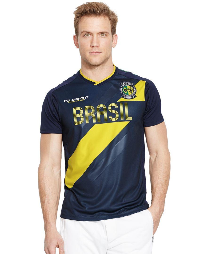 Polo Ralph Lauren Brasil Jersey TShirt Moda masculina