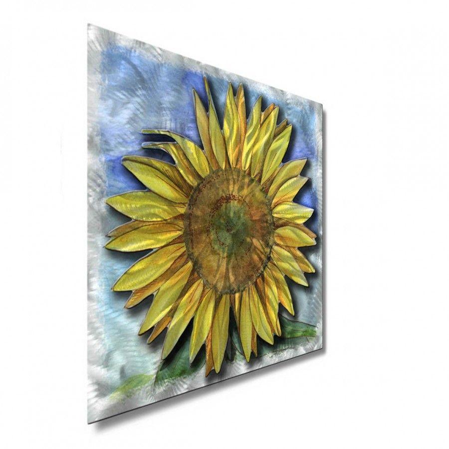 All My Walls Big Sunflower Contemporary Wall Art - 23\