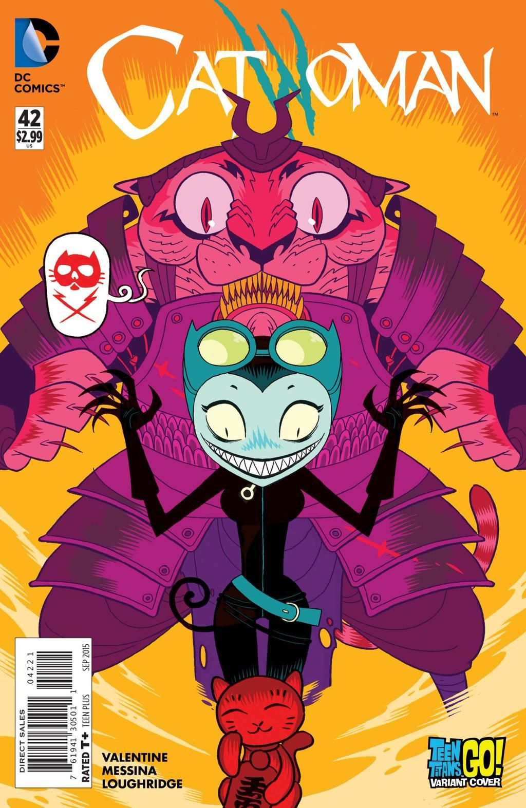.@MTVNews has your exclusive preview for next week's new CATWOMAN #42: http://on.mtv.com/1f2vX6X