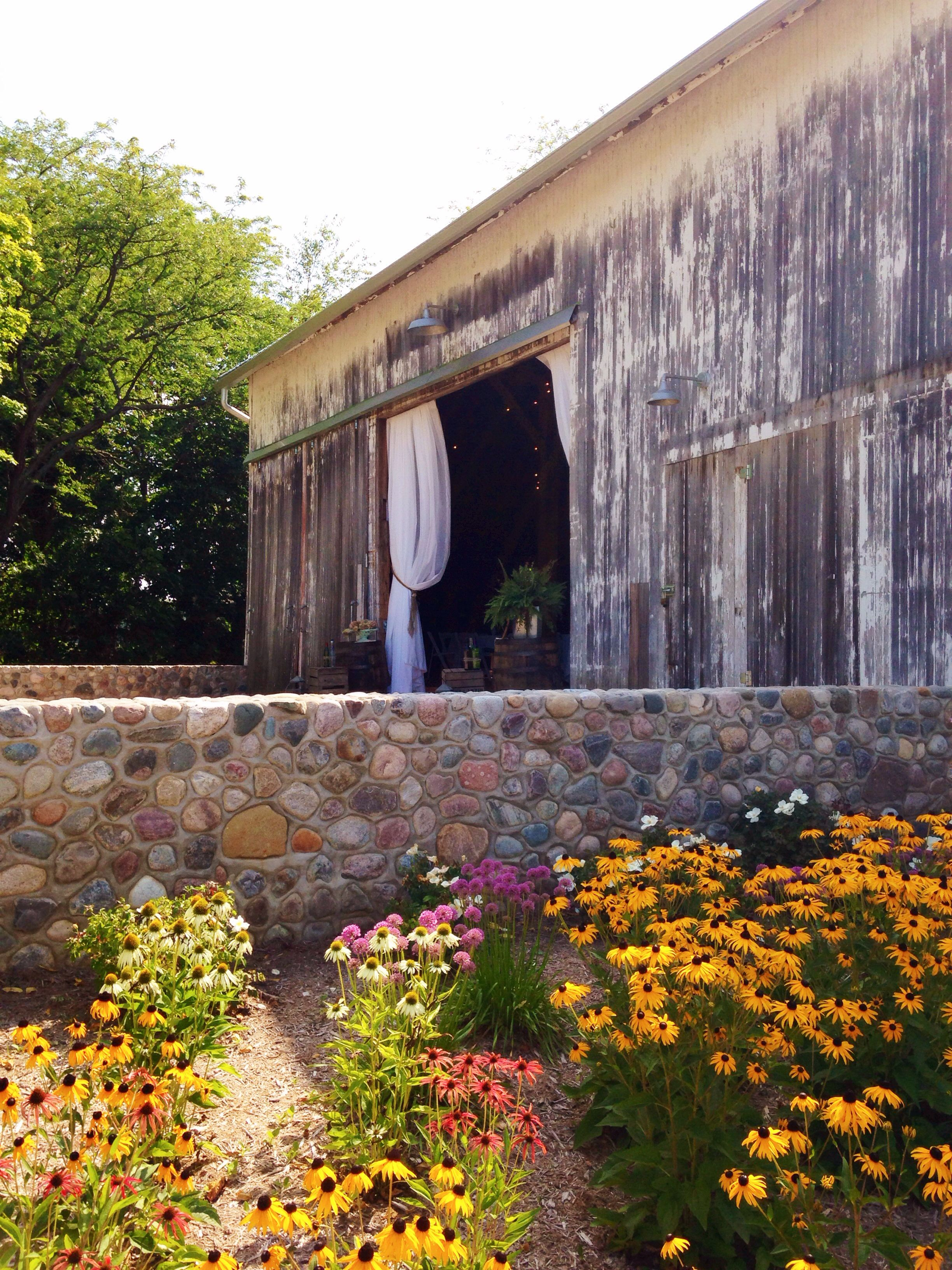 Hidden Vineyard Wedding Barn. Fantastic venue in Berrien