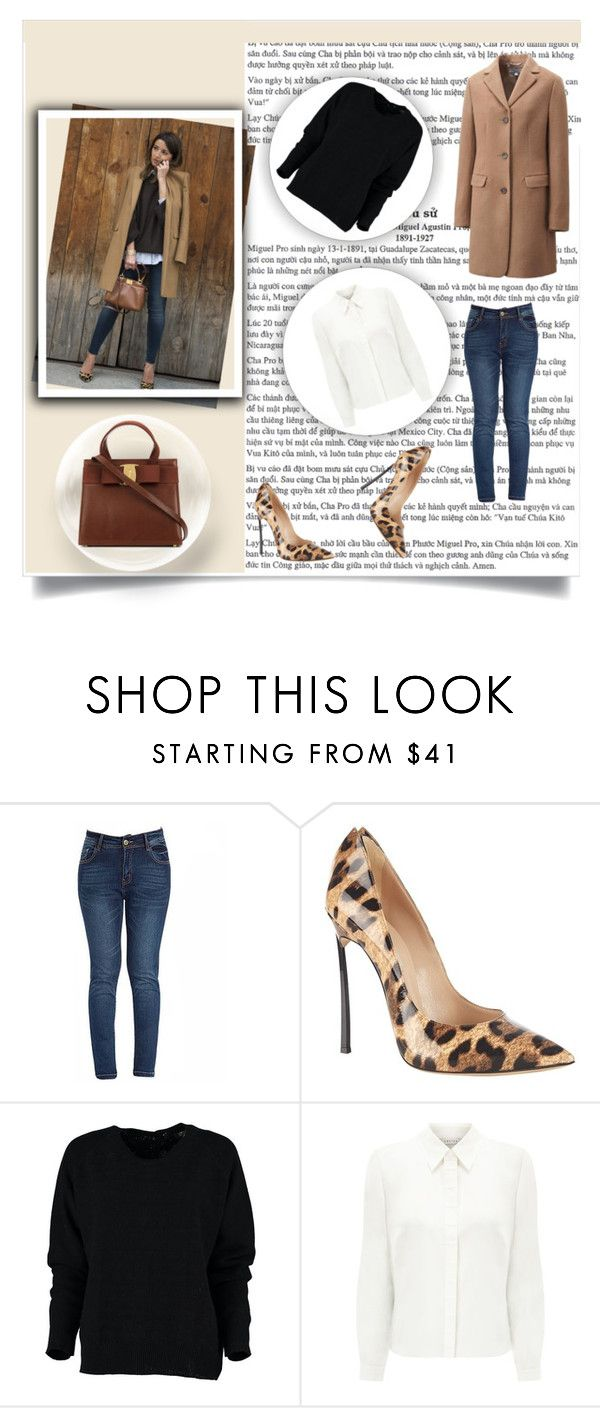"""Untitled #8"" by nerkaceba ❤ liked on Polyvore featuring Casadei, Eastex, women's clothing, women's fashion, women, female, woman, misses and juniors"