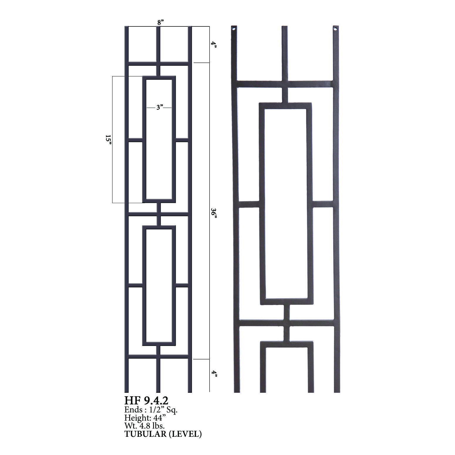 Best Iron Wood Connection Aalto Series Balusters And Newel 400 x 300