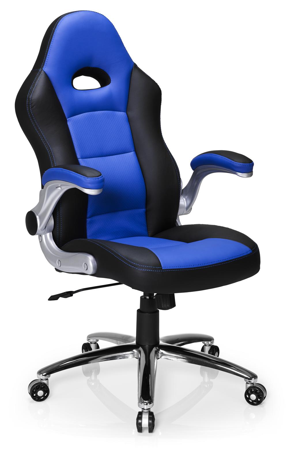 Hummingbird Le Mans Racer Chair Black And Blue