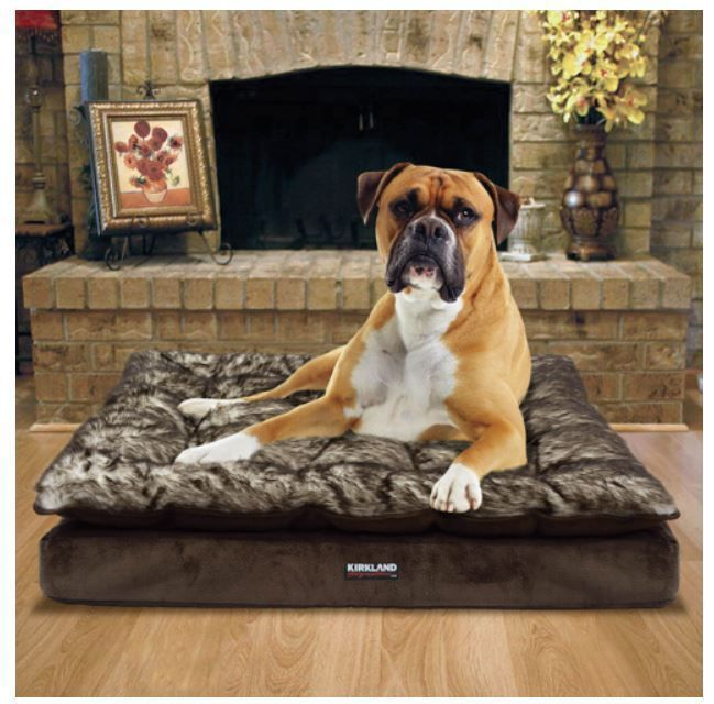 purchase large dog pillow bed up to