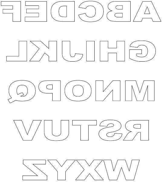 Free Printable Block Letters And Titles Slumber Kids Parties