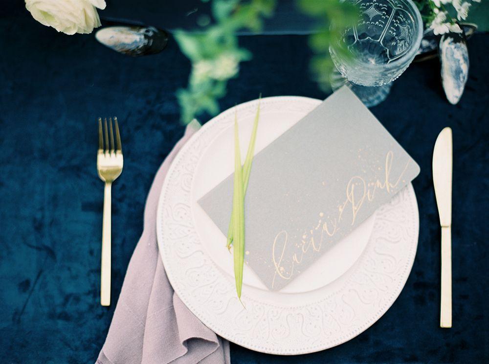 Elegant La Tavola Fine Linen Rental Velvet Navy with Tuscany Silver Napkins Minimalist - Amazing navy napkins Pictures