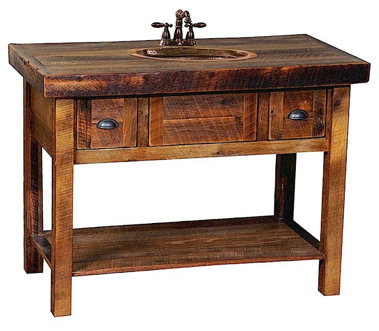 Vanities Reclaimed Wood Vanity Bathroom Nz 30 Open Oak
