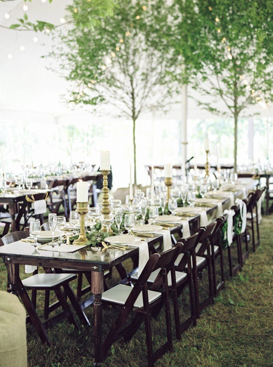 sweet stylish backyard wedding complete with cowbells fair