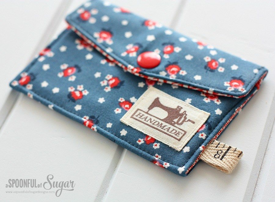 Sew a business card wallet crafts diy pinterest card wallet make an easy business card wallet from scraps of fabric and trims using our free tutorial it is a quick sewing craft and suitable for beginners reheart Image collections