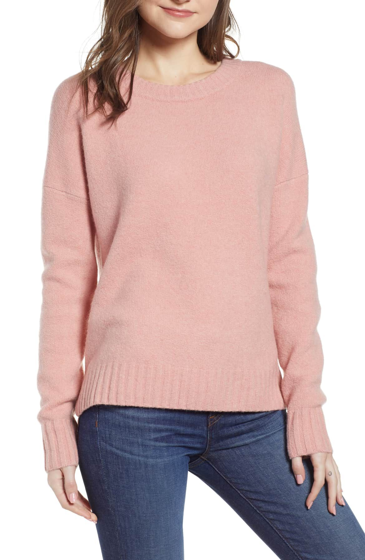 3c88b9f1e7 Supersoft Oversize Crewneck Sweater, Main, color, HEATHE… | Wantable ...