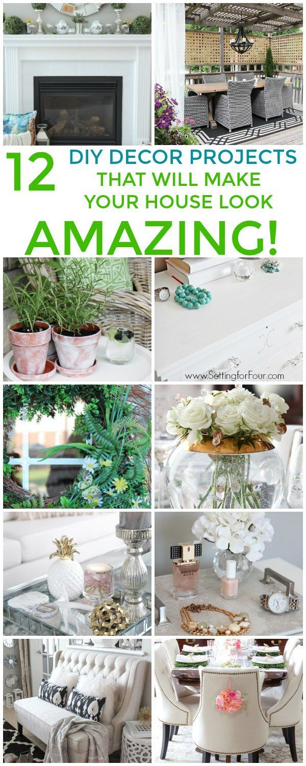 12 DIY Decor Projects That Will Make