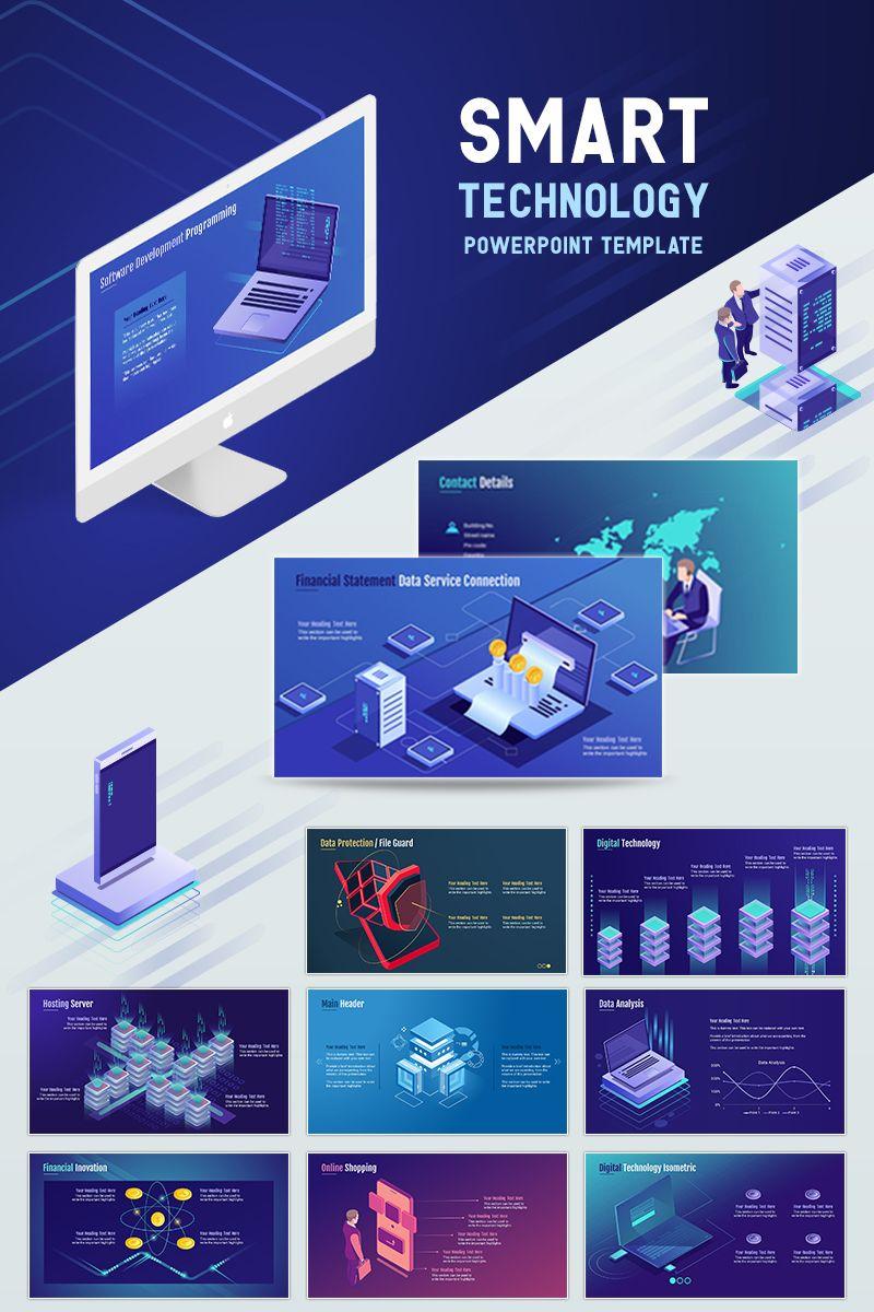 Smart Technology PowerPoint Template #71903
