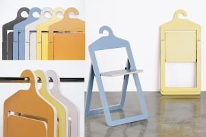 These space-saving furniture ideas will transform that cramped closet you call home into a cozy, compact dwelling.: The Hanger Chair by Umbra
