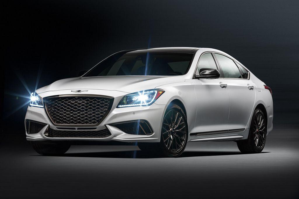 Genesis debuts 2018 G80 Sport trim with performance