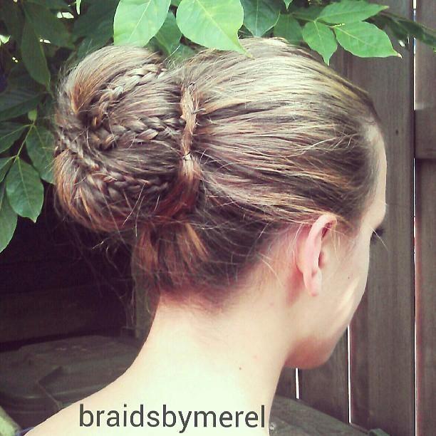 Braid Bun Hair Styles Hair Help Pretty Hairstyles