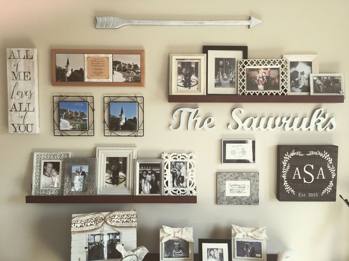 Gallery Wall Homedecor Rustic Arrow For My Home