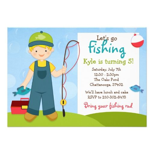 Birthday Parties, Fishing