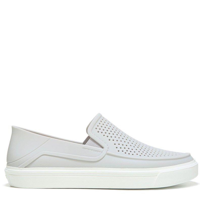 caef920d088e79 Crocs Women s Citilane Roka Slip On Shoes (Pearl White) - 10.0 M
