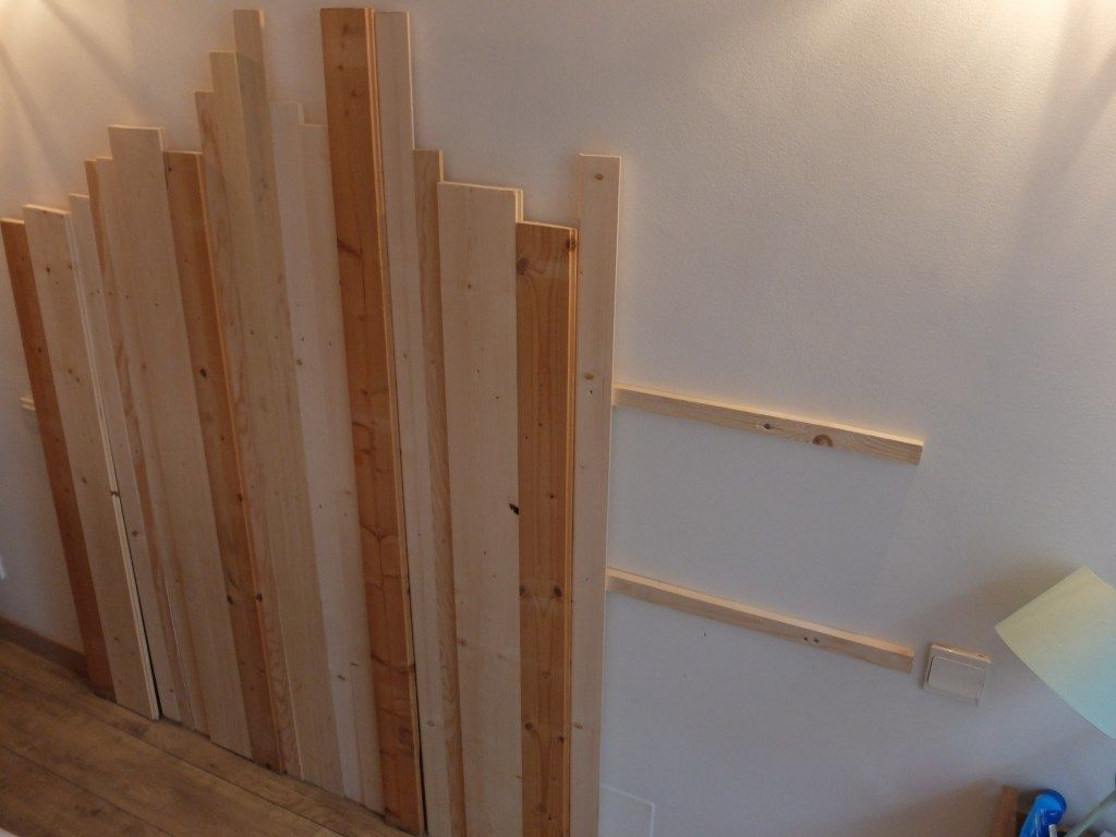 Dans Notre Appartement Notre Chambre Est Vraiment La Derniere Piece Que Lo In 2020 With Images Simple Bedroom Decor Diy Headboard Wooden Wooden Headboard