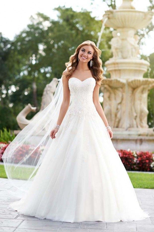lindos vestidos de novia de stella york para verte como una princesa