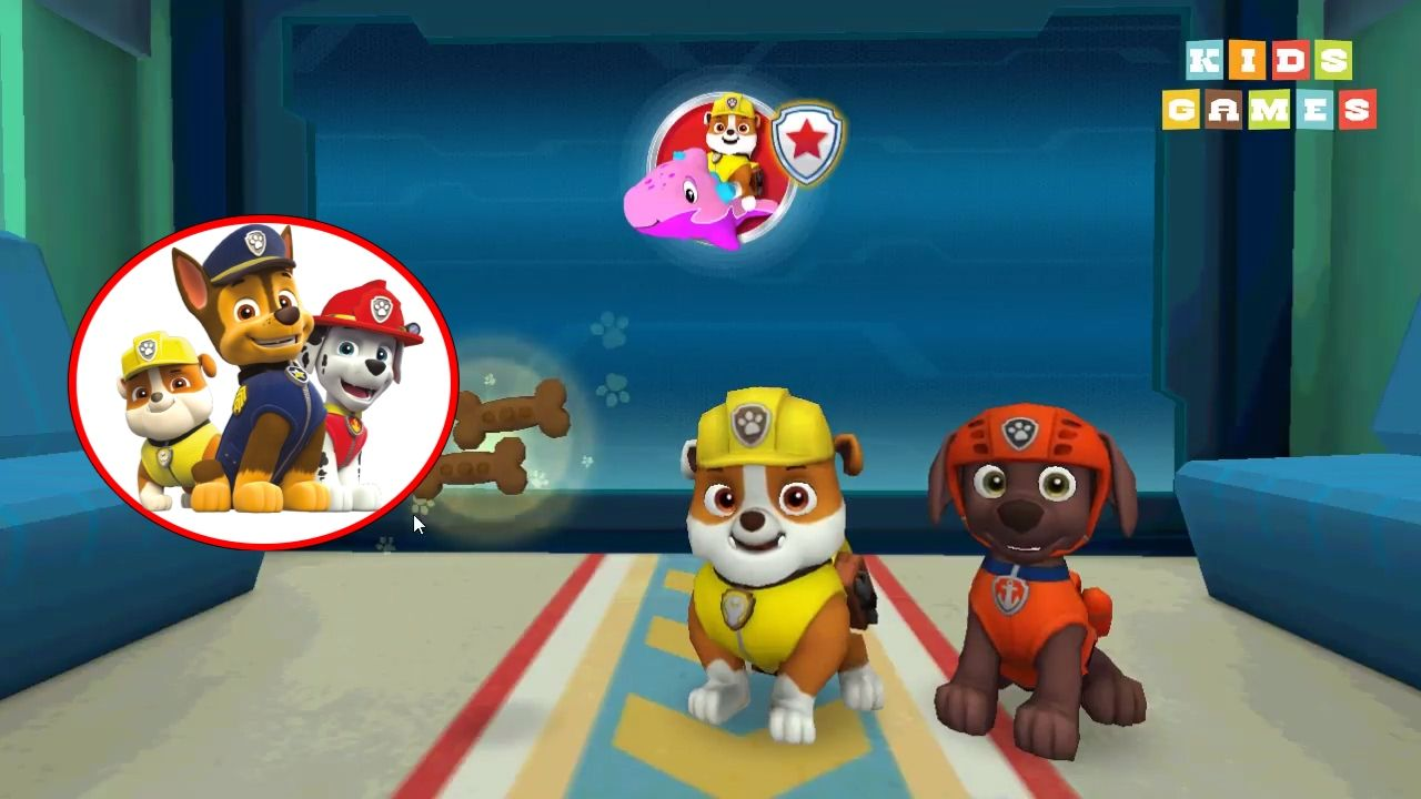 Paw patrol coloring games online - Nickelodeon Games To Play Online 2017 Paw Patrol Pups To The Rescue Episode 2