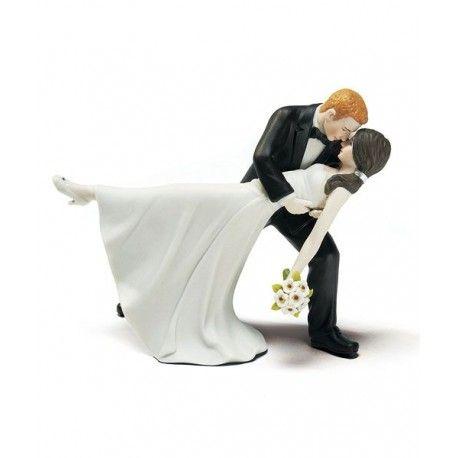 Figurine Mariage Danse Romantique Piece Montee Gateau De