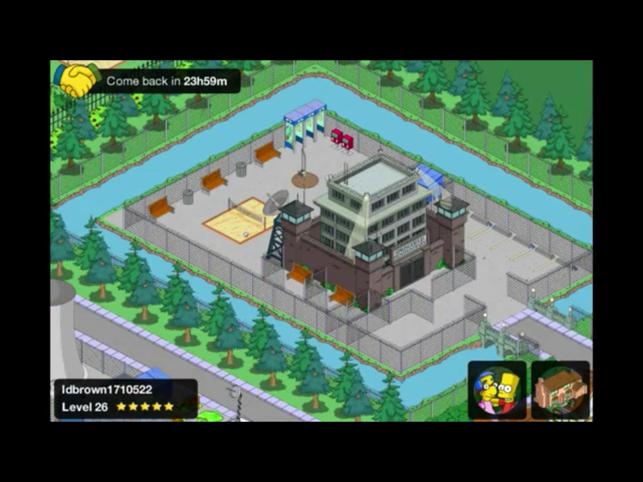 Love the prison yard. Springfield tapped out, Prison