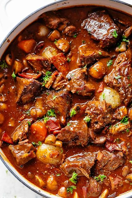 Beef Bourguignon Beef Bourguignon Beef Recipes Recipes