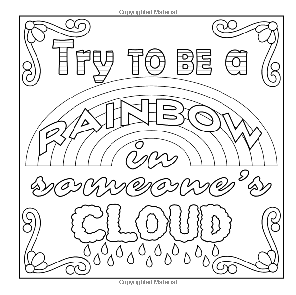 Amazon.com: Inspirational Quotes: Colouring Book (Volume 2)  (9780993569616): Sharmell Day: Boo… Quote Coloring Pages, Coloring Pages  Inspirational, Coloring Books
