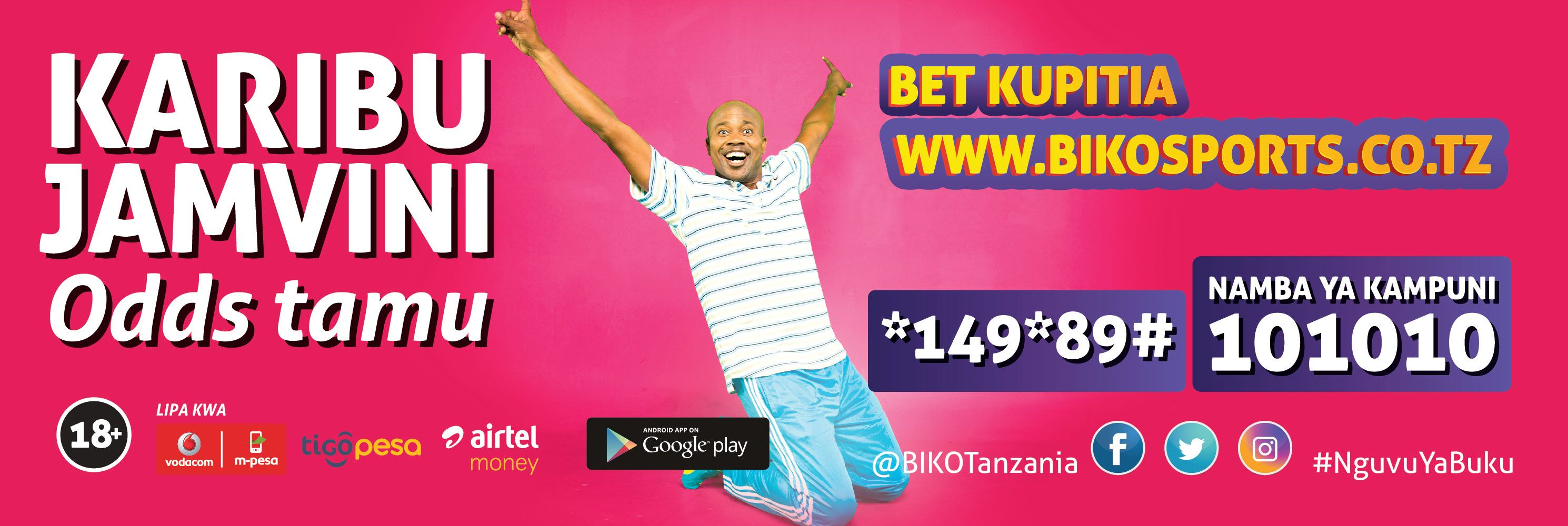 With each goal, win huge cash prizes with Biko Sports app