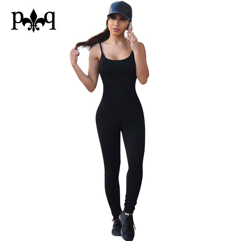0e64a851303 Sexy Club Jumpsuit Romper Women Fitness Slim Bodysuit Night club Party Wear  Overalls Long Sleeve Rompers Womens Bodycon Jumpsuit