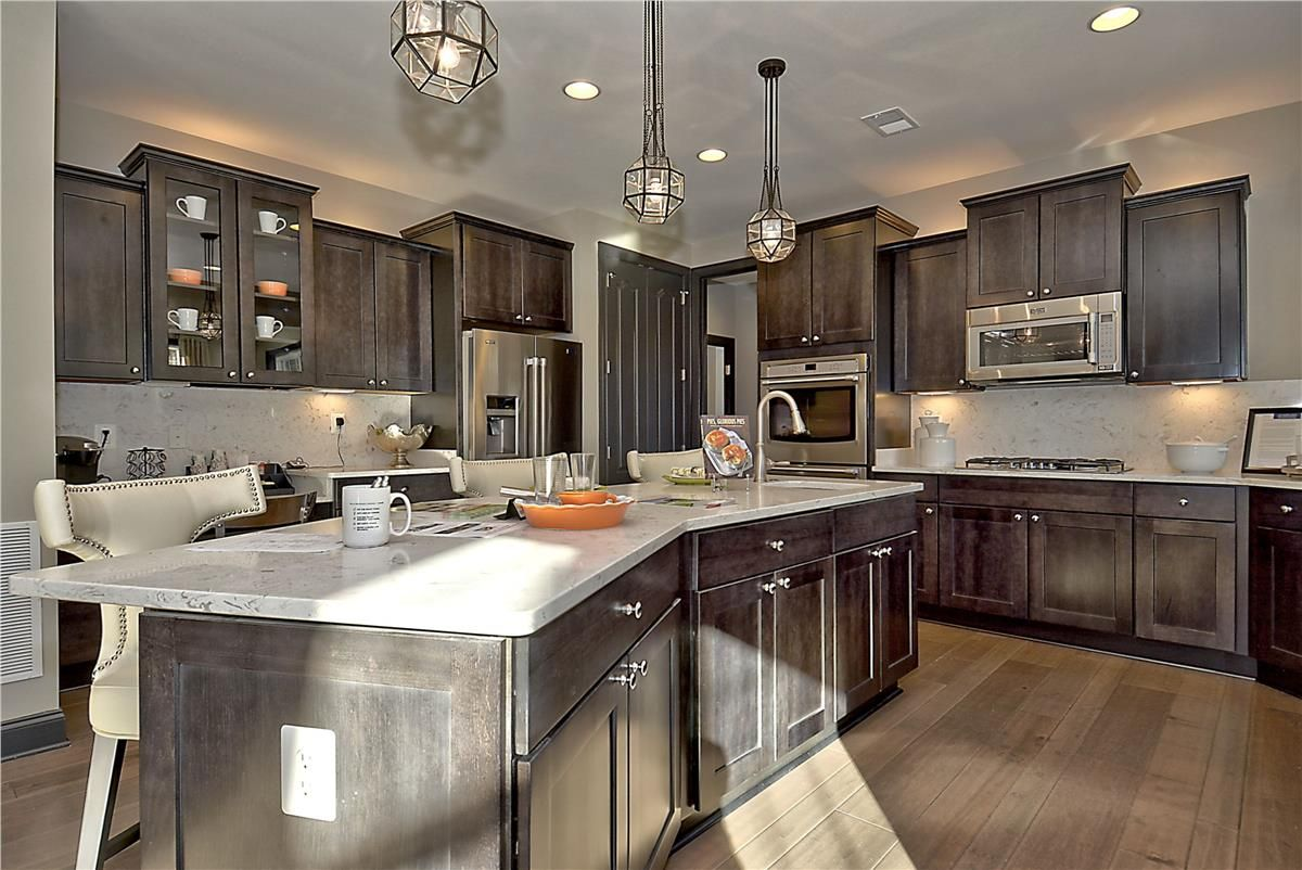 Caruso Homes Kingsport Model Gourmet Kitchen Home Home Decor