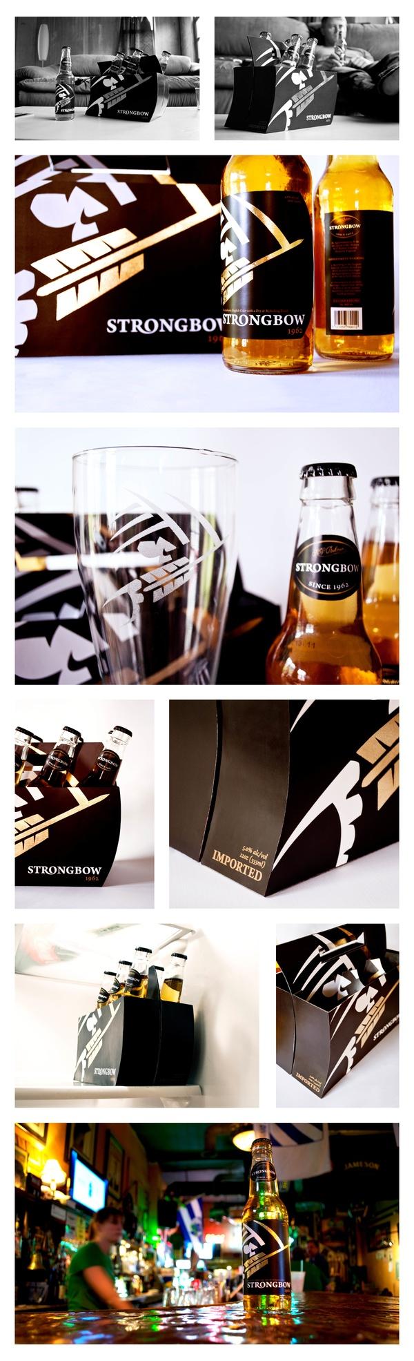 Strongbow graphic design industrial design packaging for Industrial design packaging