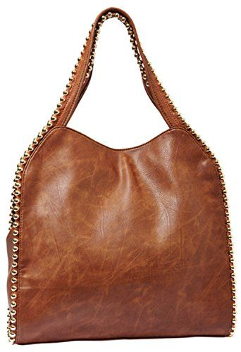 Buddha Grayson Handbag Cognac
