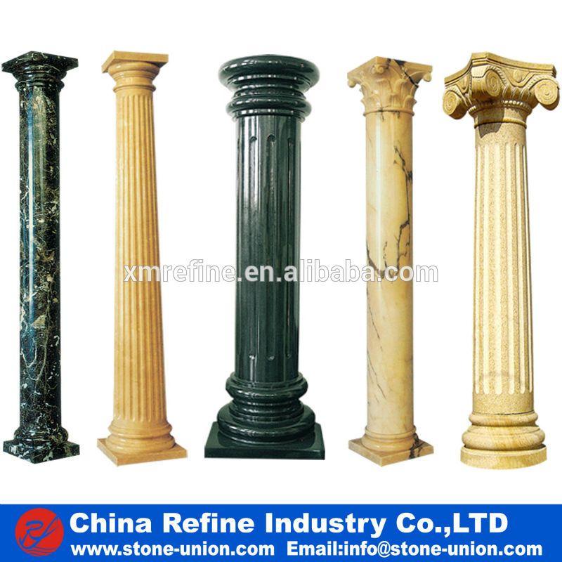 how to make concrete columns