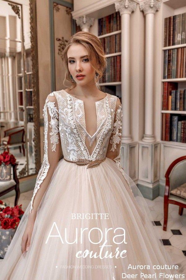 Aurora Couture Eussian Glory 2019 Wedding Dresses Brigitte Wedding Dress Couture Wedding Dresses Short Lace Wedding Dress