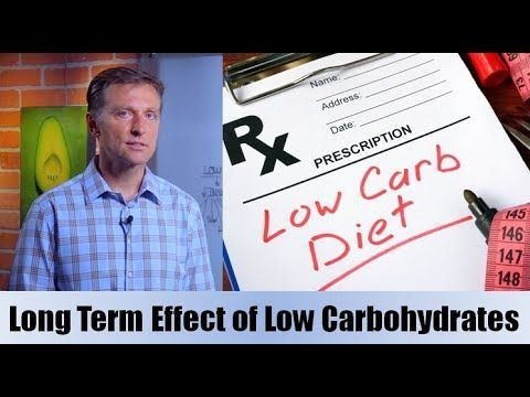 Long Term Effects of a Low Carbohydrate Diet - YouTube ...