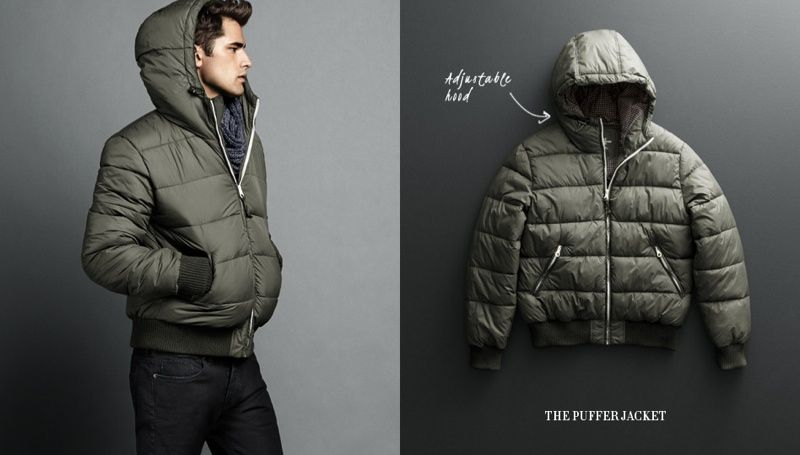 979c4100f Sean O'Pry Dons Coats & Jackets for H&M | Fall Winter | Jackets ...