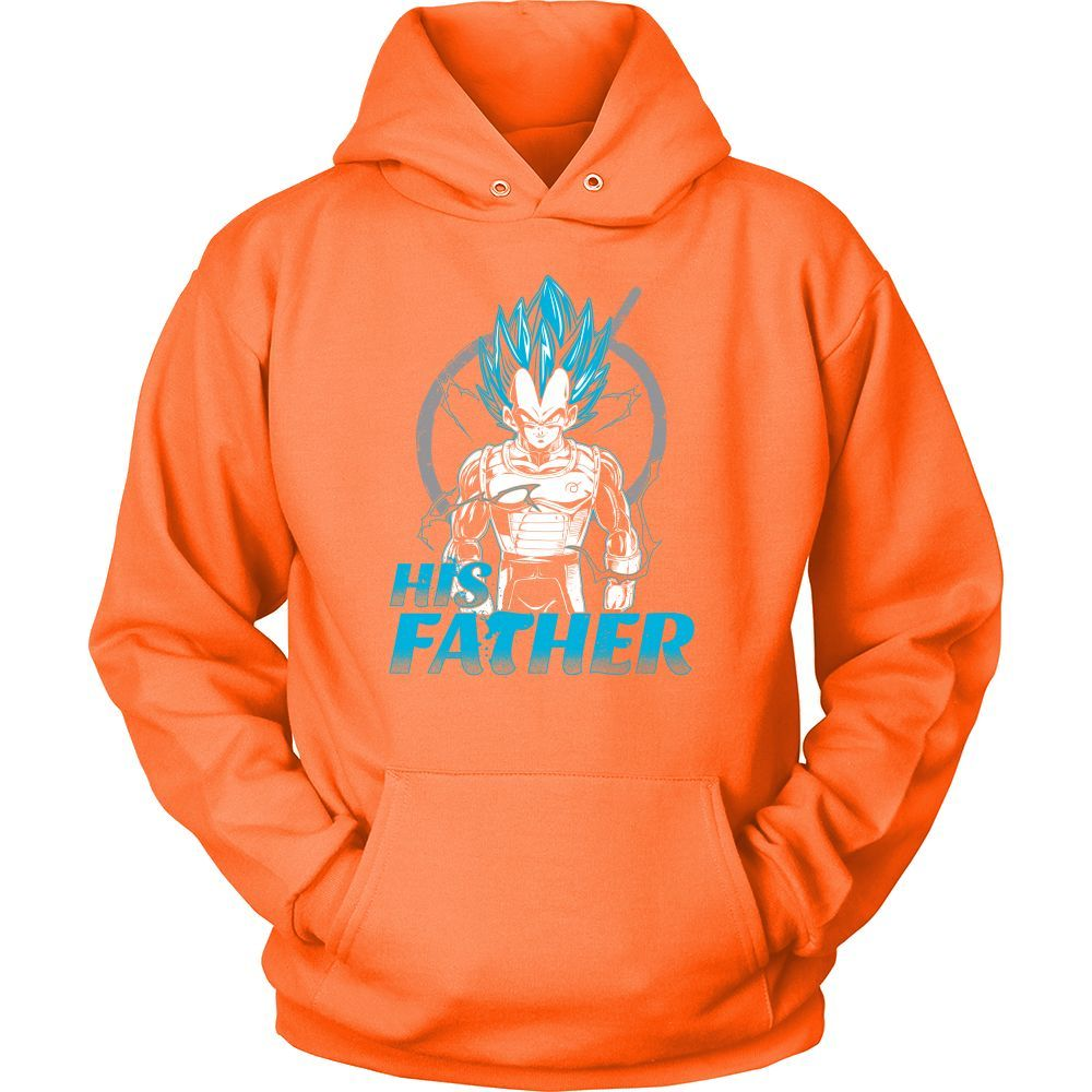 Super Saiyan Vegeta God Dad Unisex Hoodie T shirt - TL00488HO