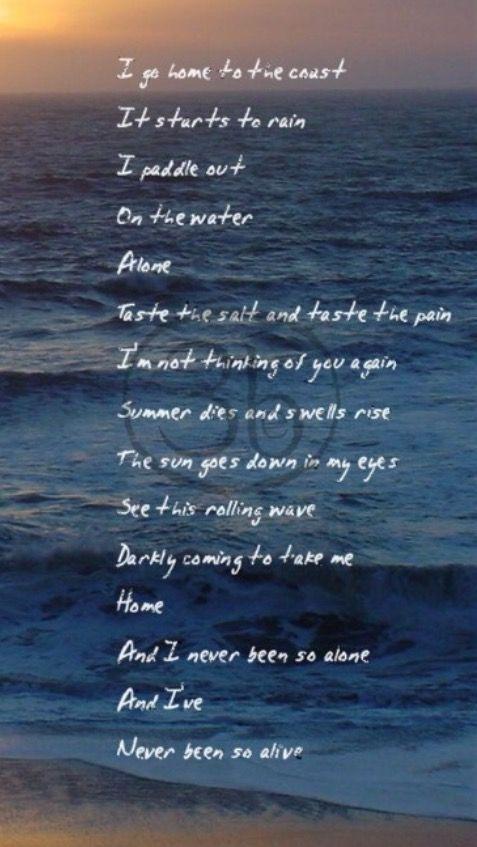 Favorite lyrics, ever.