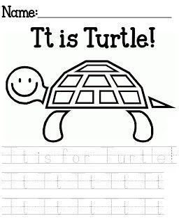 Free Yertle The Turtle Printables Alphabet Preschool Franklin