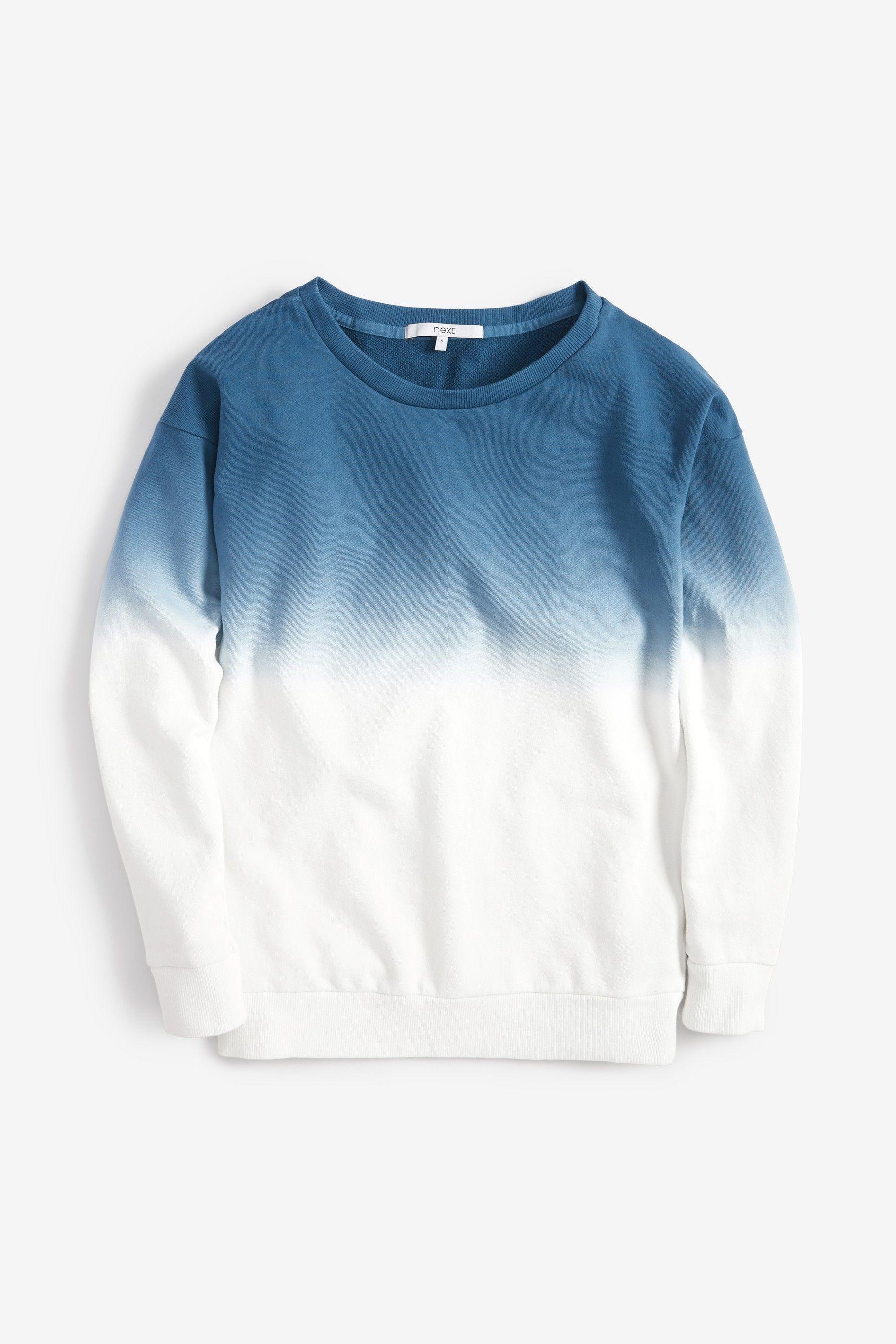 dd6735103b Womens Next Coral Dip Dye Sweatshirt - Pink in 2019   C L O S E T ...