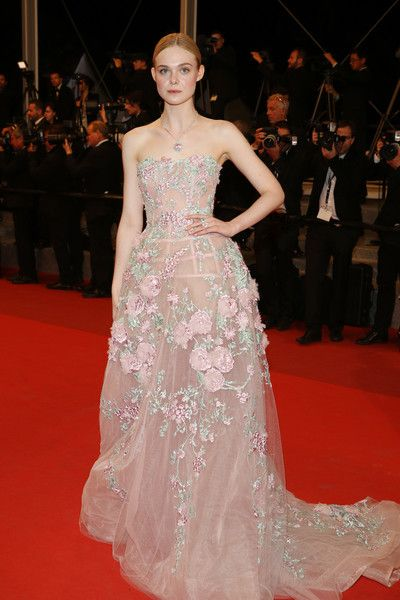 Elle Fanning - All the Breathtaking Looks From the 2016 Cannes Film Festival…